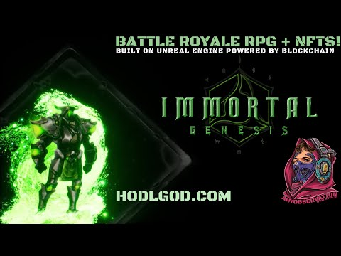 HODLGOD | Battle Royale RPG using NFTs | Interview with the team!