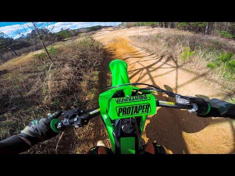 Kawasaki KX250F Spring Riding