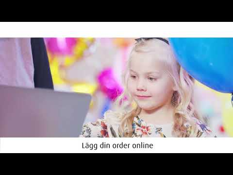 AGA online shop – available anytime, anywhere (Swedish)