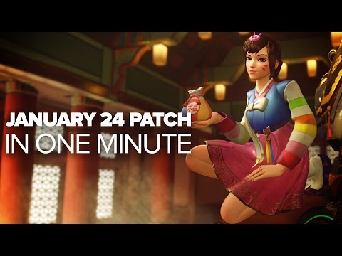 Overwatch January 24th Patch in a Minute