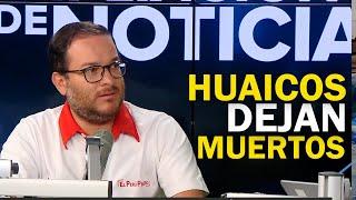 """Ministro Vásquez: """"Huaicos dejaron cuatro fallecidos y nueve desaparecidos"""""""