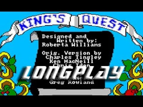 Longplay #180 King's Quest Quest for the Crown #Amigamers T.V.