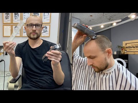 Как сделать стрижку машинкой дома / Побрить налысо / Как брить голову / Стрижка как у Кадырова photo
