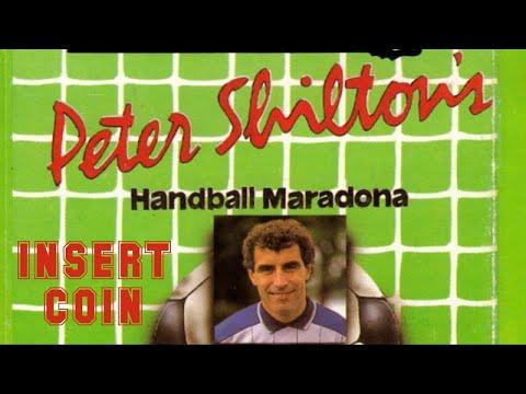 Peter Shilton's Handball Maradona (1986) - Commodore 64 - Skill Level A