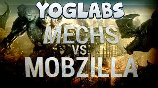 Minecraft Mods - Mechs vs Mobzilla - YogLabs