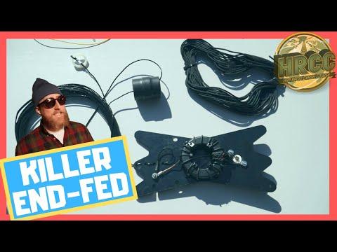 Chameleon CHA-LEFS End Fed Ham Radio Antenna
