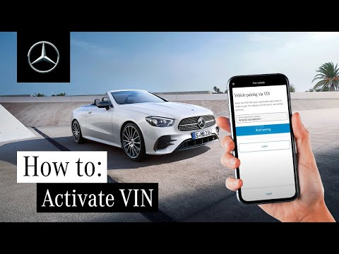 How to Activate Mercedes me with Your Vehicle Identification Number