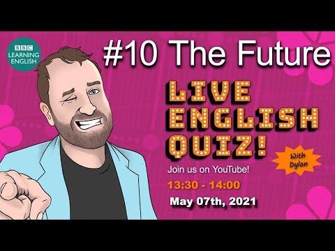 Live English Quiz #10 - The Future