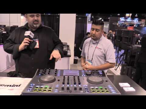 NAMM 2017 - I DJ Now - Henry with Craig from Gemini featuring the SDJ-4000