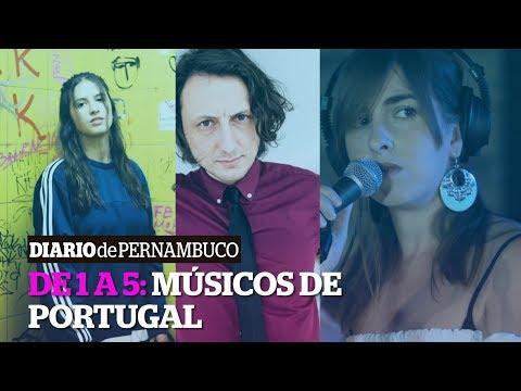 De 1 a 5: cinco artistas para conhecer a música portuguesa