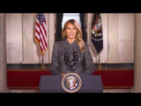 Cambio de mando en EEUU: Melania Trump y sus hitos como Primera Dama