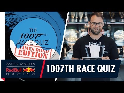 1007th Race Quiz | James Bond Edition