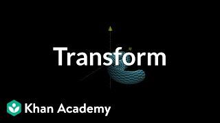 Transformations, part 3 | Multivariable calculus | Khan Academy