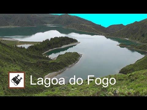 AZORES: Lagoa do Fogo, crater lake – São Miguel Island