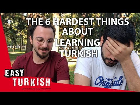 6 hardest things to learn in Turkish | Easy Turkish 16 photo