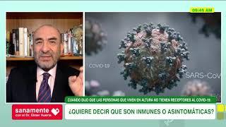 #SanamenteConElDrHuerta - ¿Las personas que viven en las alturas son inmunes al Covid-19