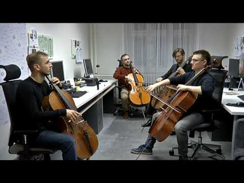 Prague Cello Quartet na Radiu Proglas (Nebe na zem