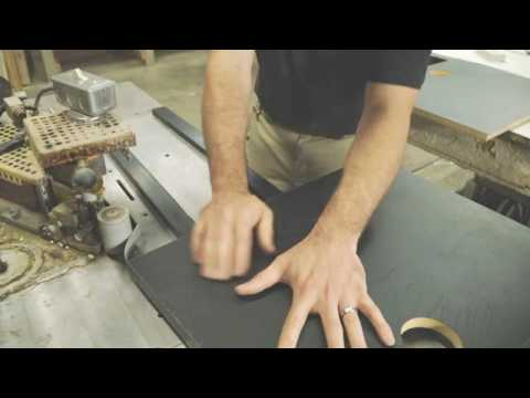 How to Fabricate Formica® dECOLeather™ Veneer