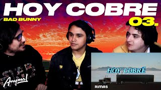[Reacción] BAD BUNNY - HOY COBRE | Especial