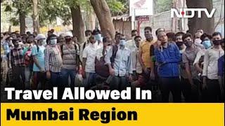 Maharashtra Allows Inter-District Movement In Mumbai Metropolitan Region - NDTV