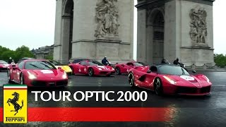Tour Optic 2000 – First stages achieved