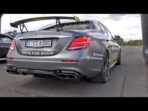 2017 Mercedes-AMG E63 S W213 EDITION 1 – REVS, DRAG RACE, DRIFTING!