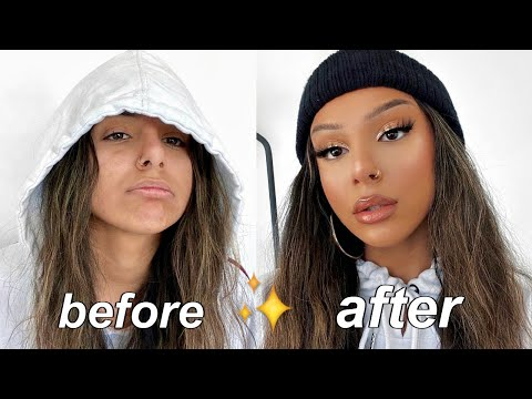 HOW TO GLOW IN THE WINTER MONTHS | makeup and skincare transformation