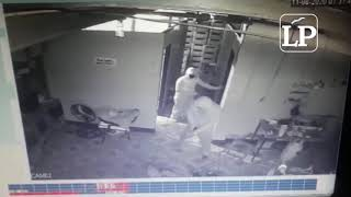 Sujetos encapuchados y armados asaltan agencia distribuidora de bebidas en Managua