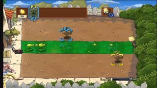 Plants vs Zombies 2 Player Walkthrough Stage 1 Part 1
