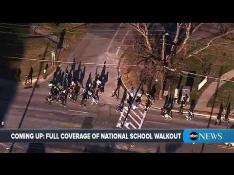 National School Walkout Day: Live coverage of school walkout for gun control| ABC News