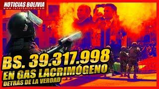 ???? Ministerio de Gobierno designó intermediario para compra de gas lacrimógeno a Bs. 39.317.998 ????