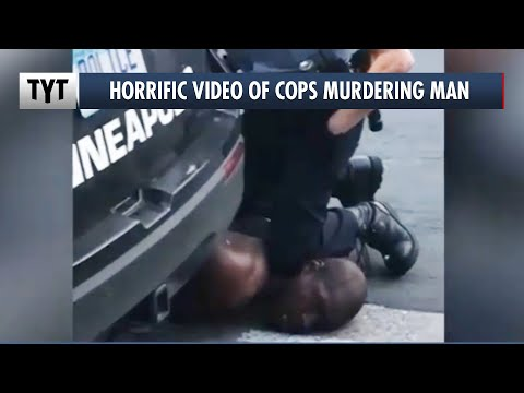 Cop Chokes Man To Death In Minneapolis
