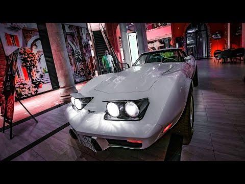 Угнал Corvette из ТЦ себе в коллекцию