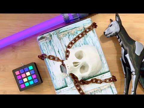 3D Hangouts – NeoTrellis, Saber Blades and Spooky Boxes