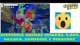 Se acerca Tormenta Tropical Amanda a México, afectaría más a Tabasco