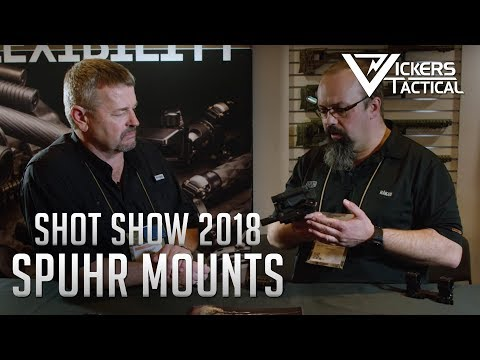Shot Show 2018 - Spuhr Mounts