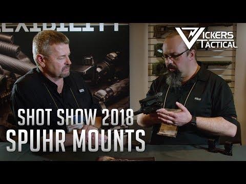 Shot Show 2018 - Spuhr Mounts