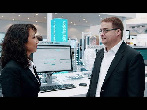 Digitalization in the water industry - Siemens highlights at IFAT2018