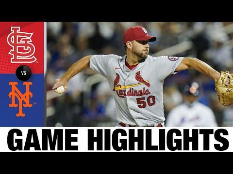 Cardinals vs. Mets Game Highlights (9/13/21)   MLB Highlights