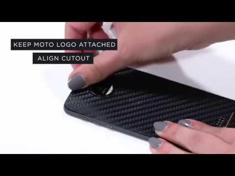 Slickwraps Moto Z/Moto Z Force Installation Video