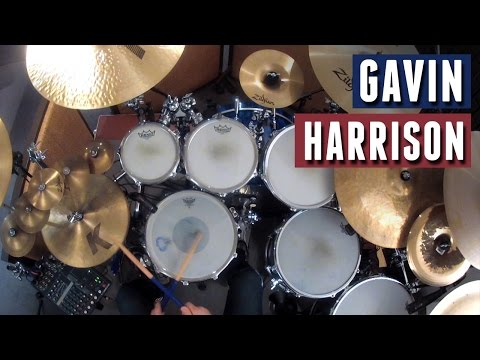 """Gavin Harrison - """"Tear You Up"""" by The Pineapple Thief"""