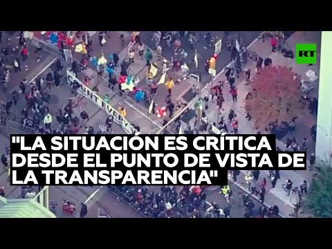 Experto: «La situación en EE.UU. es crítica desde el punto de vista de la transparencia»