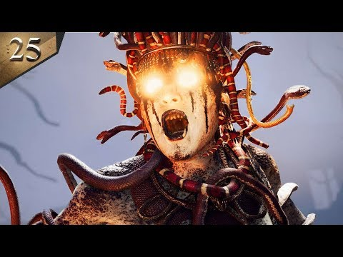 MEDUSA BOSS BATTLE - Assassins Creed: Odyssey - Part 25