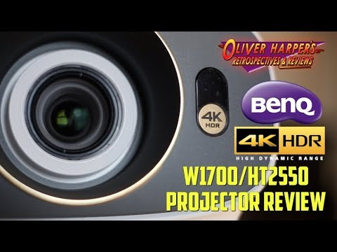 BenQ W1700/HT2550 4K HDR Projector Review