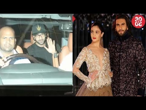 Ranbir Attends 'JHMS' Screening | Ranveer -Alia Walk The Ramp For Manish Malhotra