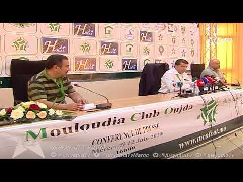 فيديو.. مولودية وجدة يقدم مدربه الجديد الجزائري عبد الحق بن شيخة