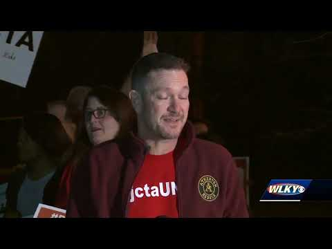 Education funding rally held at Atherton High School