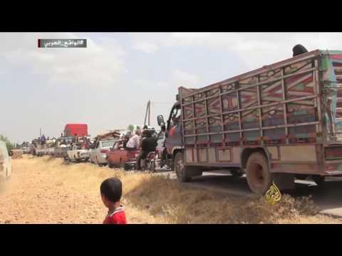 الجيش الحر يطرد القوات الكردية من ريف جرابلس