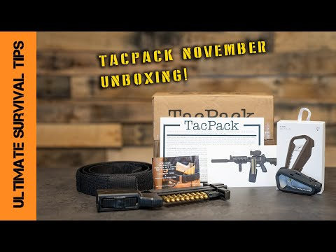 Unboxing!  - TacPack November Delivery! Let's See the New Tactical / Survival Gear...