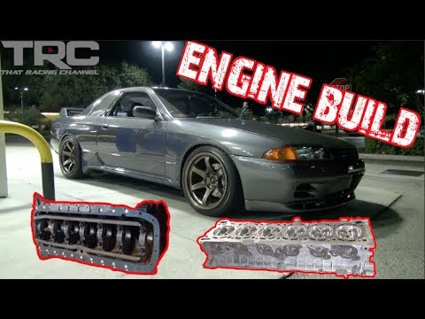 Skyline RB32 Engine Build - TRC R32 GTR Episode 5